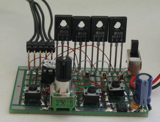 Prepare 4 Projects Mini Project Stepper Motor Controller Using Pic